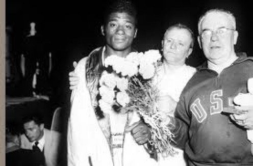 Floyd Patterson won a gold medal as a middleweight boxer in the Olympics.