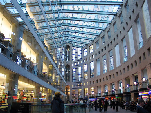 Vancouver Public Library Atrium