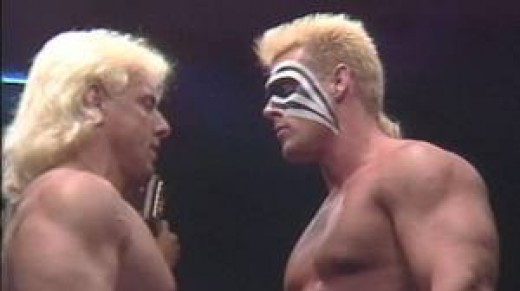Ric Flair and Sting had a long standing heated rivalry at WCW. Of course they have also been friends in this wrestling game.