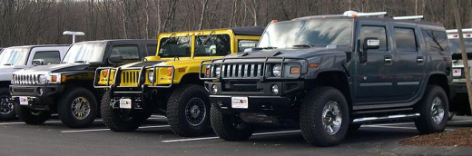 the 2006 Hummer lineup