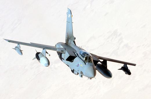 An RAF Tornado