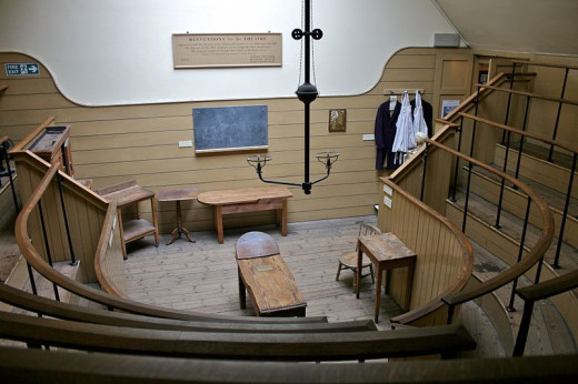 An old operating theatre where you not only went through a horrific ordeal, but you were also observed by an audience!