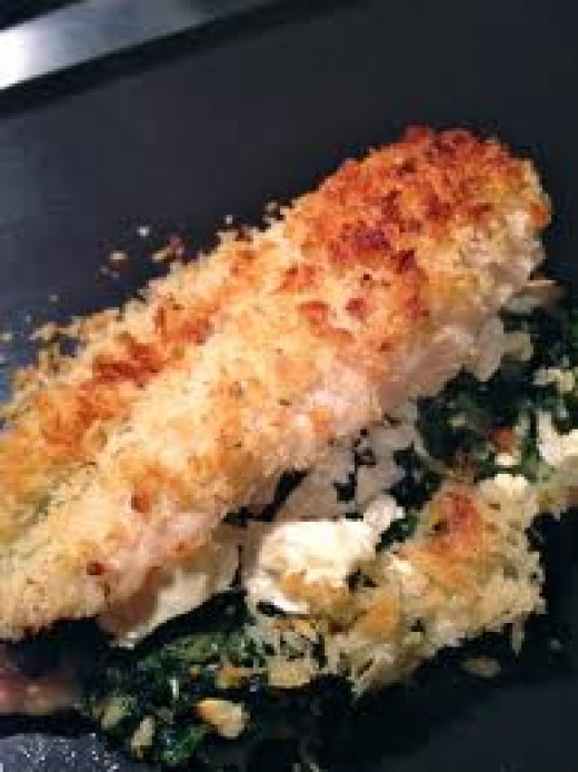 Feta chicken can be baked or broiled. Either way your in for a special treat.