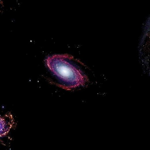 Galaxies will move apart and heat will just expand to much.