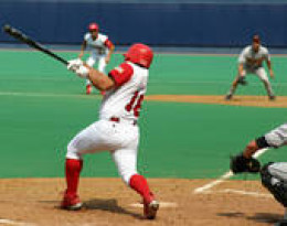 right handed batter