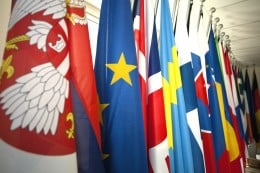 Serbia's policy is toward  EU oriented