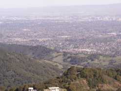 Beautiful Places in the Bay Area California: Lookout near Mount Umunhum