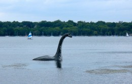 Nessy on Lake Harriet from a couple of years ago.