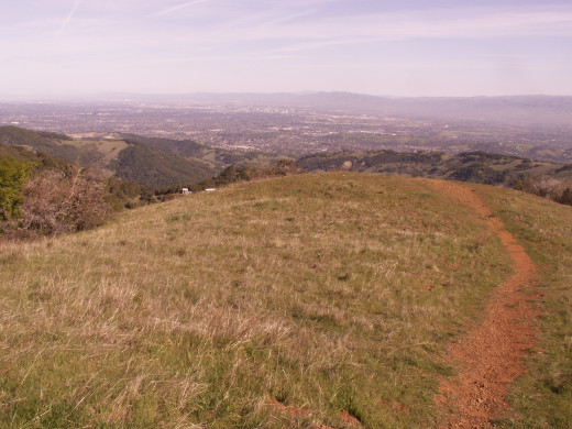Trail to the Romantic Vista on Mount Umunhum