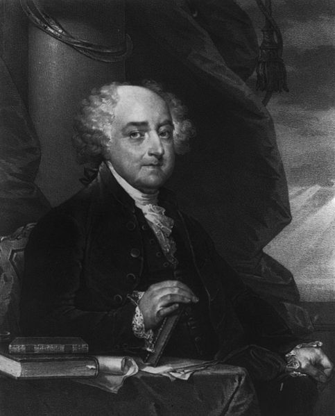 John Adams was the first vice president and second president.