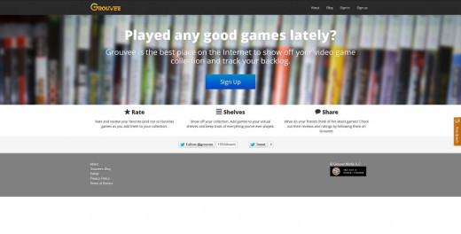 Grouvee - A social networking site for video game enthusiasts