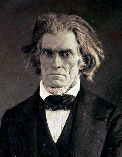 John Calhoun served under John Quincy Adams and Andrew Jackson. He was also probably our ugliest vice president.