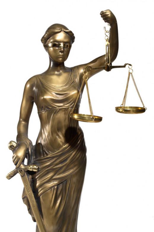 Lady Justice -