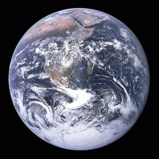 The Earth Apollo 17