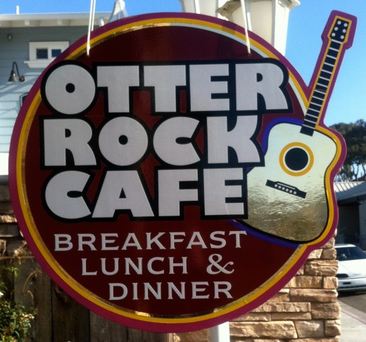 The Otter Rock Cafe - Not that great of a cafe.