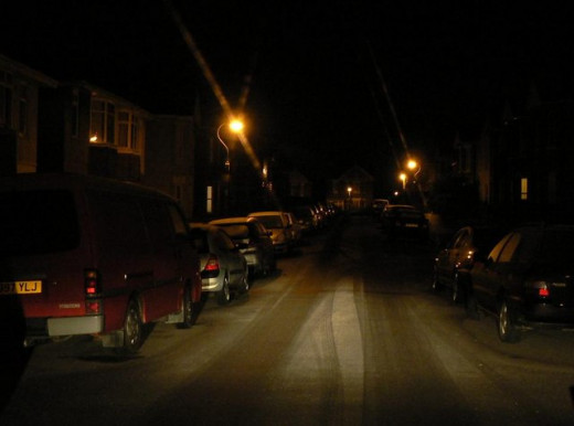 Driving at night can be difficult.  Use your headlights properly.