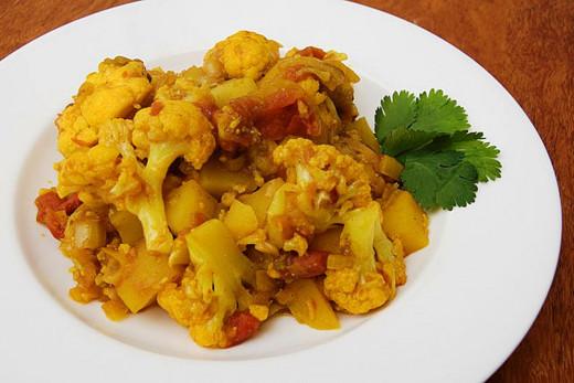 Tasty Aloo Gobhi