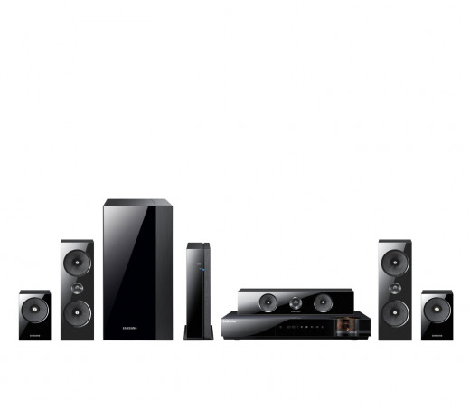 Samsung HT-E6500W 5.1 Channel 1000-Watt 3D Blu-Ray Home Theater System Samsung HT-E6500W 5.1 Channel 1000-Watt 3D Blu-Ray Home Theater System