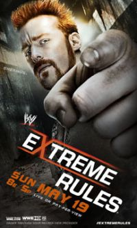 Extreme Rules 2013 Poster