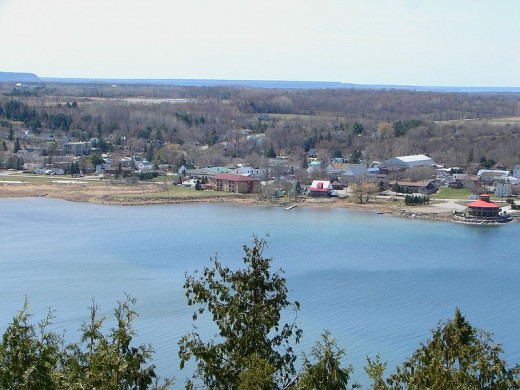 View of Gore Bay