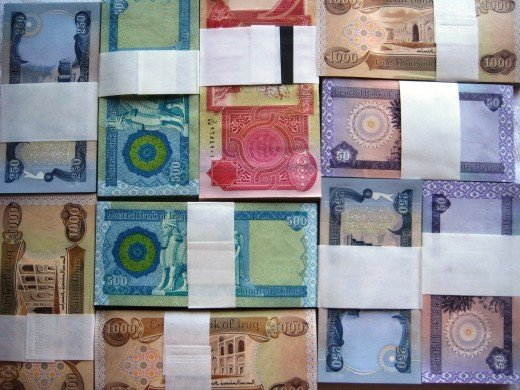 Iraqi Dinar Notes