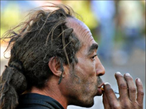 Schizophrenic Man (Los Angeles)