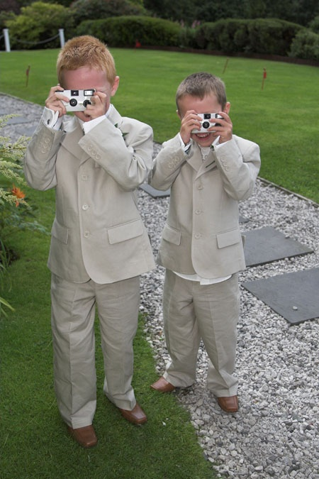 Children Taking Photos