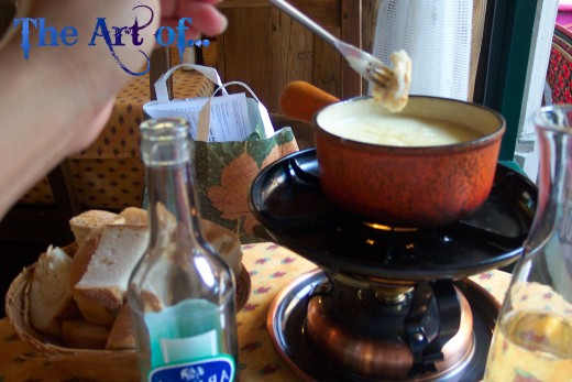 It's not a Swiss chalet, but fondue in Geneva is just about worth the trip!