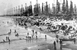 The beach in the 20's