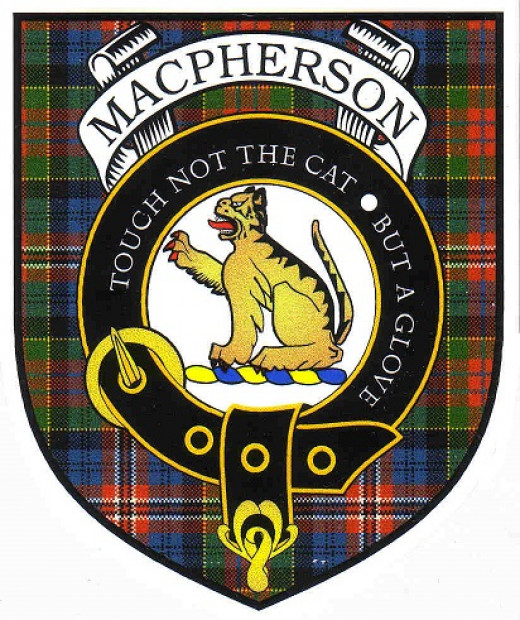 The crest of Clan MacPherson