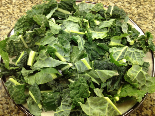 Fresh, Pre-Cut, Kale