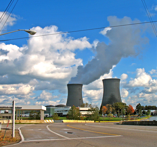 Perry Nuclear Power Plant, about 45 min. east of Cleveland
