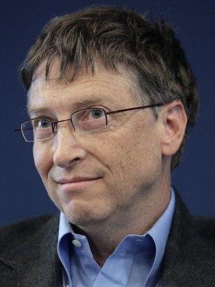 Bill Gates, geeky knowledge seeker.
