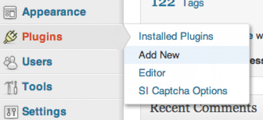 Click on the Add New option under Plugins