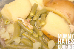 Green Beans and Potatoes the Light Way