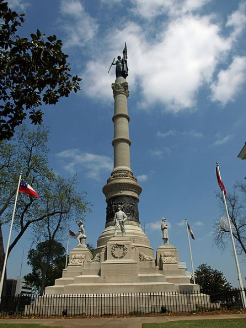 Confederate Memorial at the Alabama State Capitol