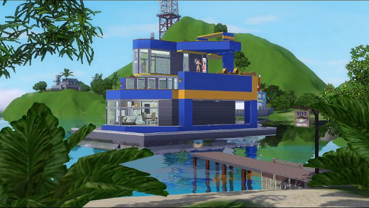 You can have really fancy houseboats if you want, but you may not always be able to afford that