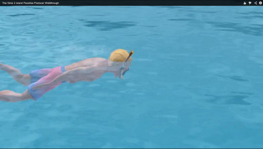 Snorkeling and exploring underwater are great new ways for your Sims to spend time off work