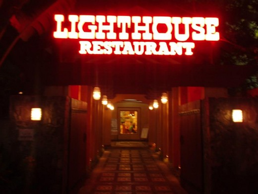 Dining in Lighthouse Restaurant, Cebu City, Philippines - A Variety of Filipino Native Foods -