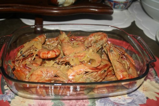 Filipino Food - Shrimps