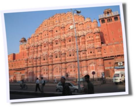 Hawa Mahal or Palace Of Winds @ Jaipur