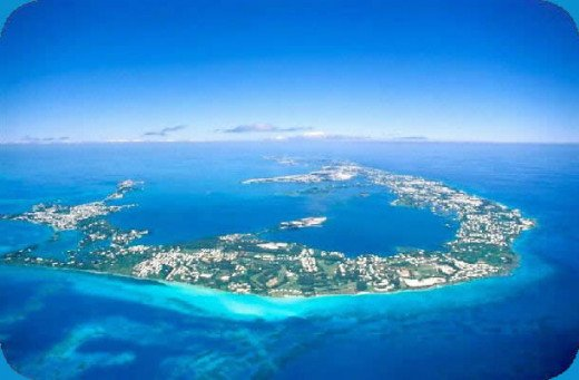 Beautiful Bermuda From Above