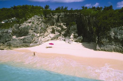 "Pink Sandy Beaches That ""Blush"""