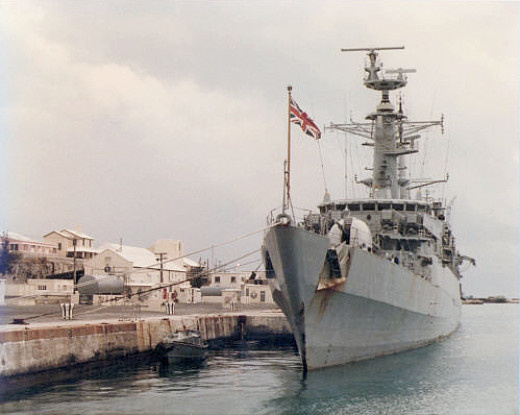 British Royal Naval Dockyard