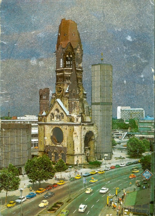 Postcard of Kaiser Wilhelm Memorial Church