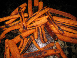 Recipe: Crispy Low-Cal Carrot French Fries