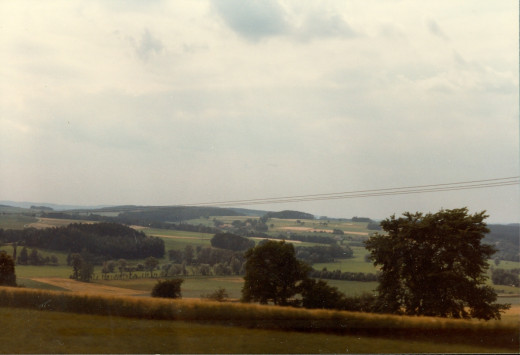 West Germany countryside