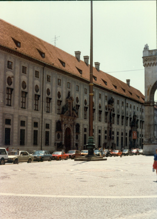 Residenz Palace (currently a museum) in Munich