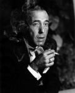Humphrey Bogart - Movie tough guy and sometime killer