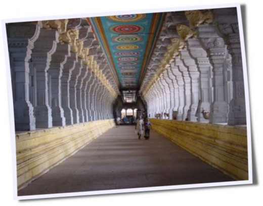 Thousand pillar temple @ Rameshwaram, Tamilnadu